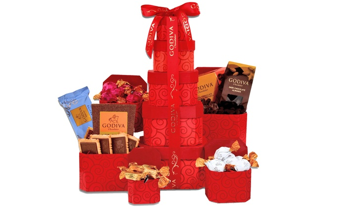 43% Off Goa Chocolate Tower from Gift Baskets Plus  sc 1 st  Groupon & Gift Baskets Plus in - New York City | Groupon