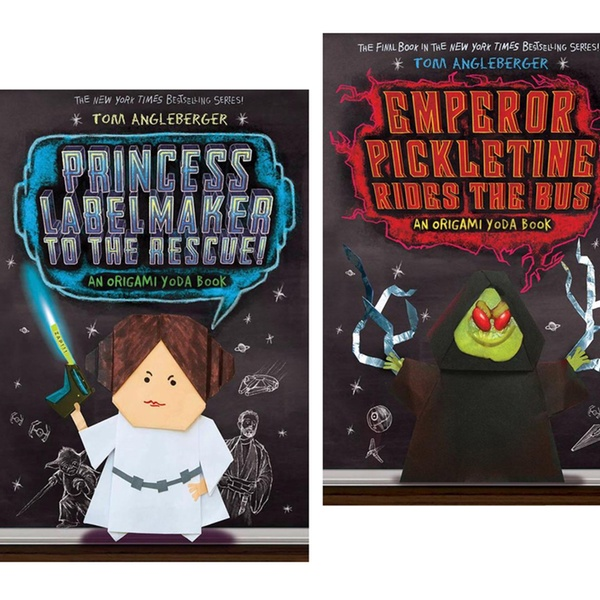 Star Wars Origami Yoda 2 Books Almost NEW!!   #1622032197   600x600
