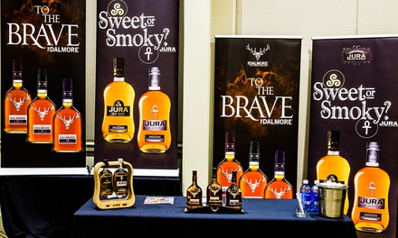 Ticket to The Whisky Show for One ($59) or Two People ($109), 19 - 20 May 2017, Mascot (Up to $160 Value)