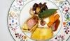 Mas valentine - La Table de Valentin - Mas valentine - Table de Valentin: 2 menus plaisir pour 2 convives à 44 € à la Table de Valentin, restaurant du Mas de la Valentine****