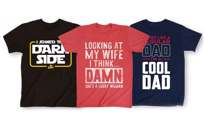 Men's Humorous T-Shirts | Groupon