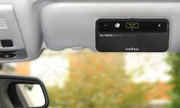 Veho SAEM Bluetooth Hands-Free Car Kit: Veho Bluetooth Hands-Free Car Kit withMotion-Sensor Power-Save. Free Returns.