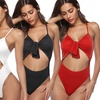 Tie-Front One-Piece Swimsuit