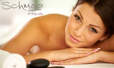 ThreeTreatment Pamper Package at Schmoo in the City Hilton Cardiff Metropole