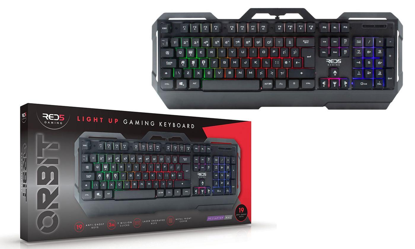 RED5 Orbit Gaming Keyboard