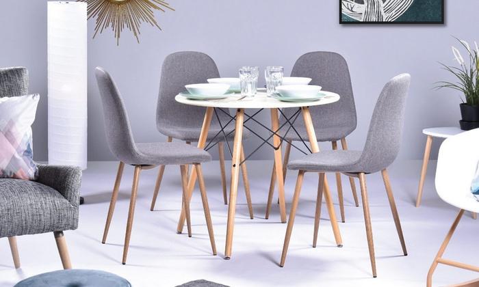 Mesa comedor estilo escandinavo   Groupon Goods