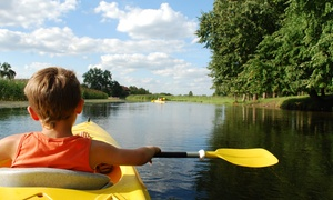 Thaxton's Canoe Trails: Kayak Rental and Training for 2 or 6- or 12-Mile Canoe Rental for 2 at Thaxton's Canoe Trails (Up to 59% Off)