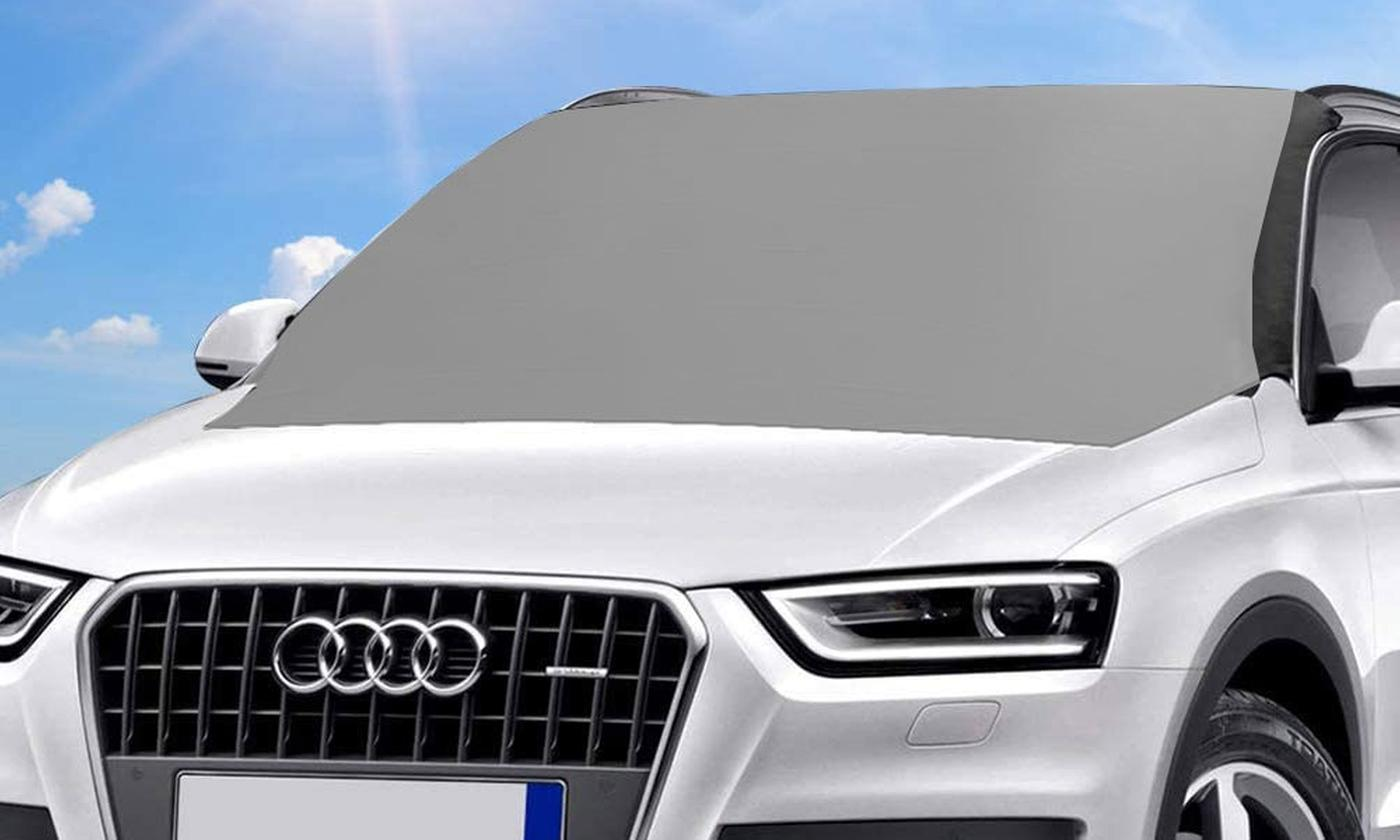 One or Two Magnetic Windscreen Sunshade Covers