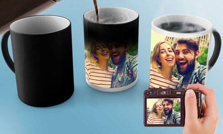 One (£5.99) or Two (£10.99) Personalised Magic Mugs (Up to...