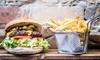 Cheeseburger Menü inkl. Beilage