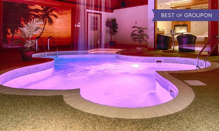 Romantic Chicagoland Suites with Private Pools