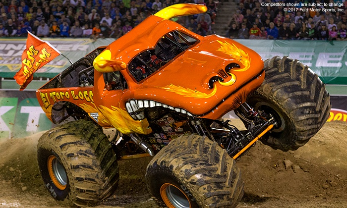 Monster Jam - Carrier Dome: Monster Jam on Saturday, April 7, at 7 p.m.
