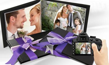 Uno o dos álbumes de fotos de distintos tamaños en PrinterPix - sin gastos de envío (hasta 92% de descuento)