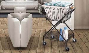 Artesia Verona Laundry Cart with Removable Basket
