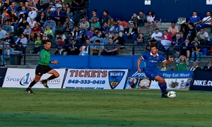 Orange County Blues: Orange County Blues Soccer Game, March 26–September 26