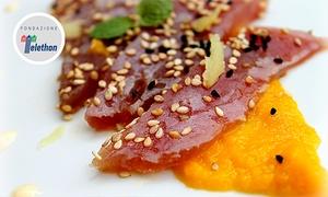 Cà di Ferae Restaurant: Menu gourmet di mare con antipasti, tagliata di tonno, dolce e digestivo al Cà di Ferae Restaurant (sconto fino a 53%)