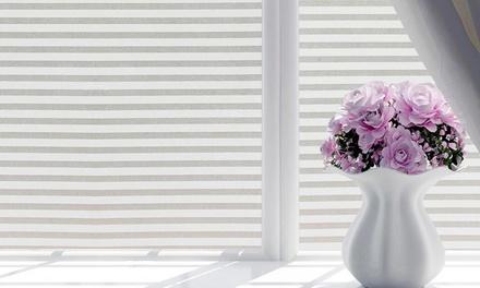 Pellicola smerigliata per finestre