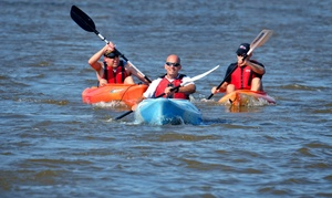RIVERSPORT Adventures Lake Overholser: One-Hour Kayak or SUP Rental for One or Two at RIVERSPORT Adventures Lake Overholser (Up to 47% Off)