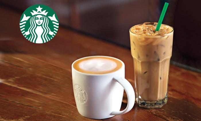 Starbucks: Getränke zum Entdecken und Genießen mit dem Starbucks Card eGift im Wert von 10 €