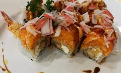 Asian Cuisine at Sushi House (Up to 40% Off). Two Options Available.