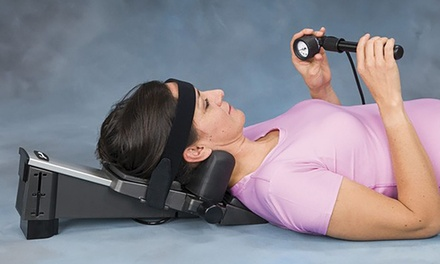 Saunders Cervical Traction Unit Groupon Goods