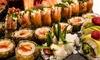 Sushi Box da asporto da 42 pezzi