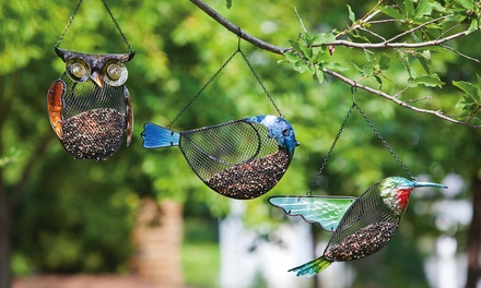 Decorative Mesh Bird Feeders