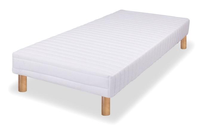 sommier tapissier bionight groupon. Black Bedroom Furniture Sets. Home Design Ideas