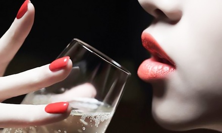 Shellac or Polish Manicure or Pedicure with Refreshments at Glam London, Battersea (Up to 47% Off)