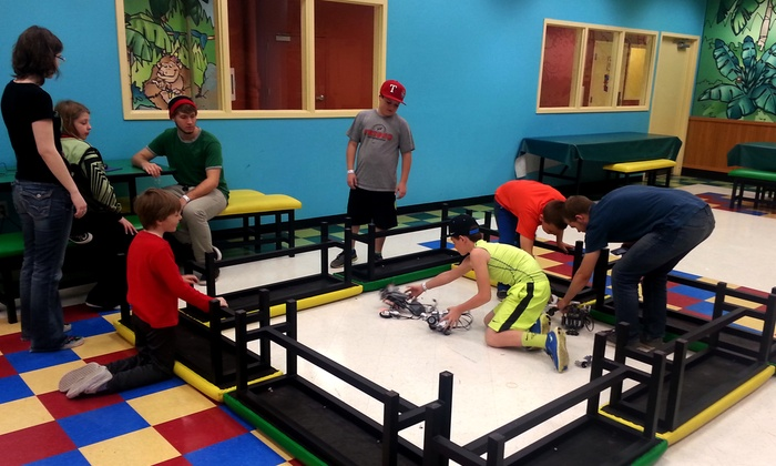 Techno Wiz Kids - Multiple Locations: Minecraft or Robotics Summer Camp at Amusement Centers from Techno Wiz Kids (62% Off). 9 Options Available.
