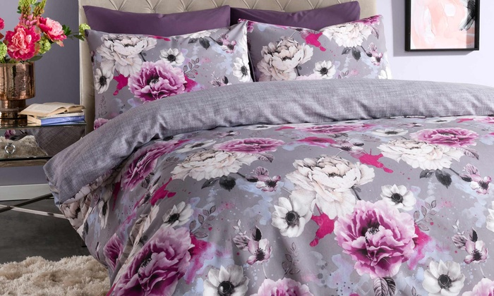Floral Duvet Sets in Choice of Size for £10