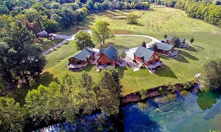 1-Night Stay for Two or Four in a Cottage or Lodge at RiverWood Resort in Lebanon, MO. Combine Up to 2 Nights.