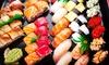 5% Cash Back at Ginza Sushi & Sake