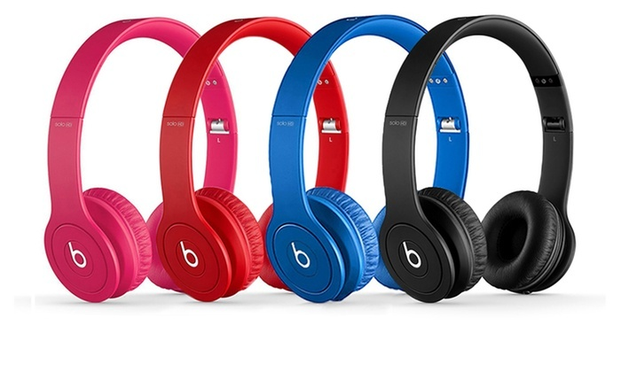 Beats Solo Hd Drenched Headphone Groupon Goods