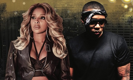 Mary J. Blige and Nas on Friday, August 2, at 8 p.m.