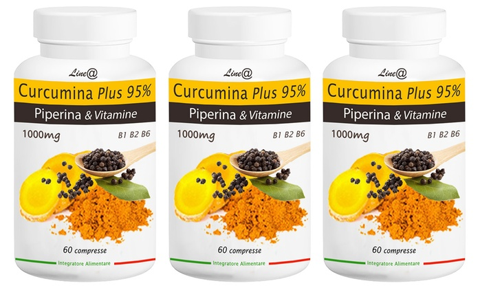 Fino a 180 capsule di curcuma e piperina per dimagrire e favorire il tuo benessere da 19,99 € (84% di sconto)