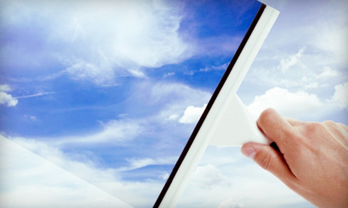 Shiny Things Window Washing - Old Westport: Window Washing Including Sills and Screens for a One- or Two-Story Building or Residence from Shiny Things Window Washing (Up to 74% Off)
