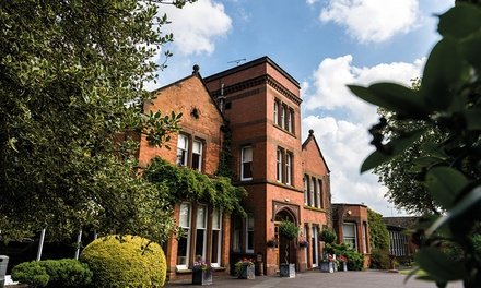 Warwickshire: Double Room for Two with Breakfast and Option for Dinner at Woodside Hotel
