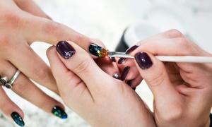 Les Ongles De Salomé: Pose de gel sur ongles naturels ou remplissage de gel dès 17,90 € à l'institut Les Ongles de Salomé