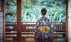 目黒 浴衣(持ち帰り)ディナープラン(シャンパンハーフボトル付)/文化財見学/土日利用、男女利用OK