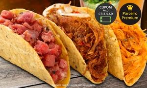 La Eskina – Shopping Venâncio: La Eskina – Shopping Venâncio: combo de tacos ou burrito + refrigerante + nachos ou papas