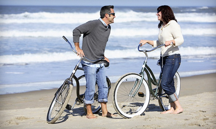 Island Bicycle Company - Galveston : Bike, Watercraft, and Beach-Gear Rentals at Island Bicycle Company in Galveston (Up to 56% Off). Two Options Available.