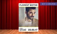 1 place en catégorie 2 debout pour Florent Mothe le 23 mars 2017 à 20h à 15 € à La Cigale