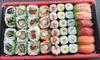 Sushi-box om af te halen