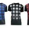 Galaxy By Harvic Men's Buffalo Plaid T-Shirt