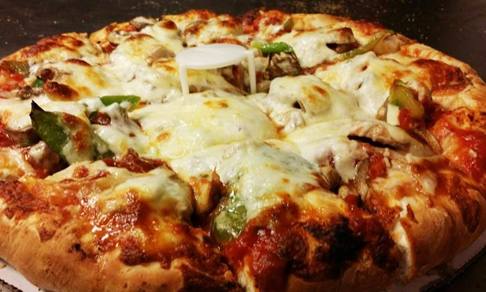 Rosati's S. Halsted - Rosati's S. Halsted: Pizza with Options for Wings or Pasta at Rosati's S. Halsted (Up to 41% Off). Three Options Available.