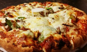 Rosati's S. Halsted: Pizza with Options for Wings or Pasta at Rosati's S. Halsted (Up to 41% Off). Three Options Available.
