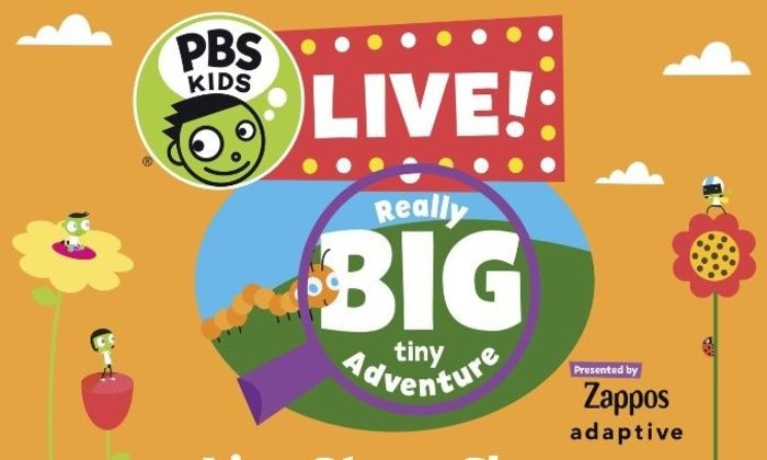 Pbs Kids Live Really Big Tiny Adventure On February 24 At 1230 Pm Or 430 Pm