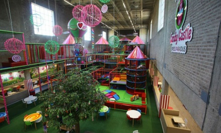 Entreetickets voor speelparadijs Candy Castle in AmsterdamWest