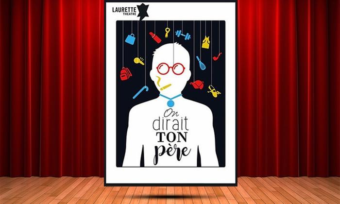 1 place pour un des 5 spectacles au choix parmi la sélection, dès 9 € au Théâtre Laurette